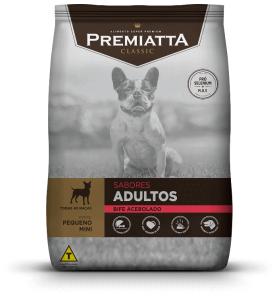 Premiatta Classic Sabores Do Brasil Bife Acebolado Para Cães Adultos De Raças Mini E Pequena 3kg